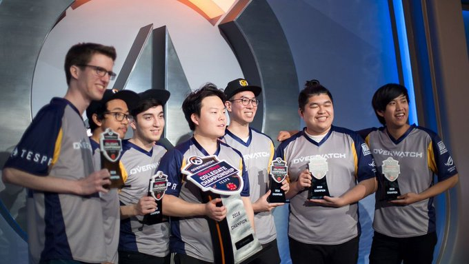RT @SportsRadio_740: Cal sweeps UCI to win second straight Tespa Overwatch title https://t.co/R4JgDvj0E1 https://t.co/MsegBG1NHm