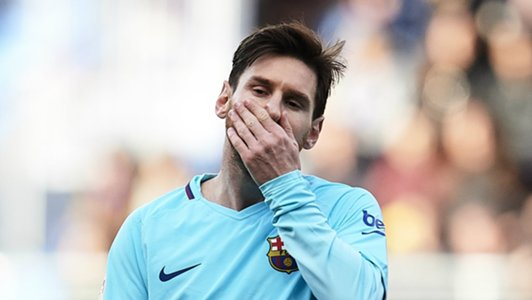 Messi posts unwanted record as Barcelona beat Eibar