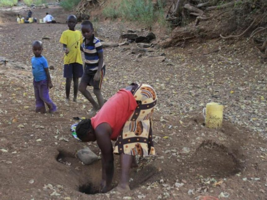 Where are our leaders? Baringo women, children ask after rivers run dry