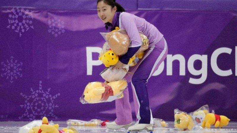 Here's why Olympic figure skater Yuzuru Hanyu's fans throw Winnie the Pooh bears on the ice
