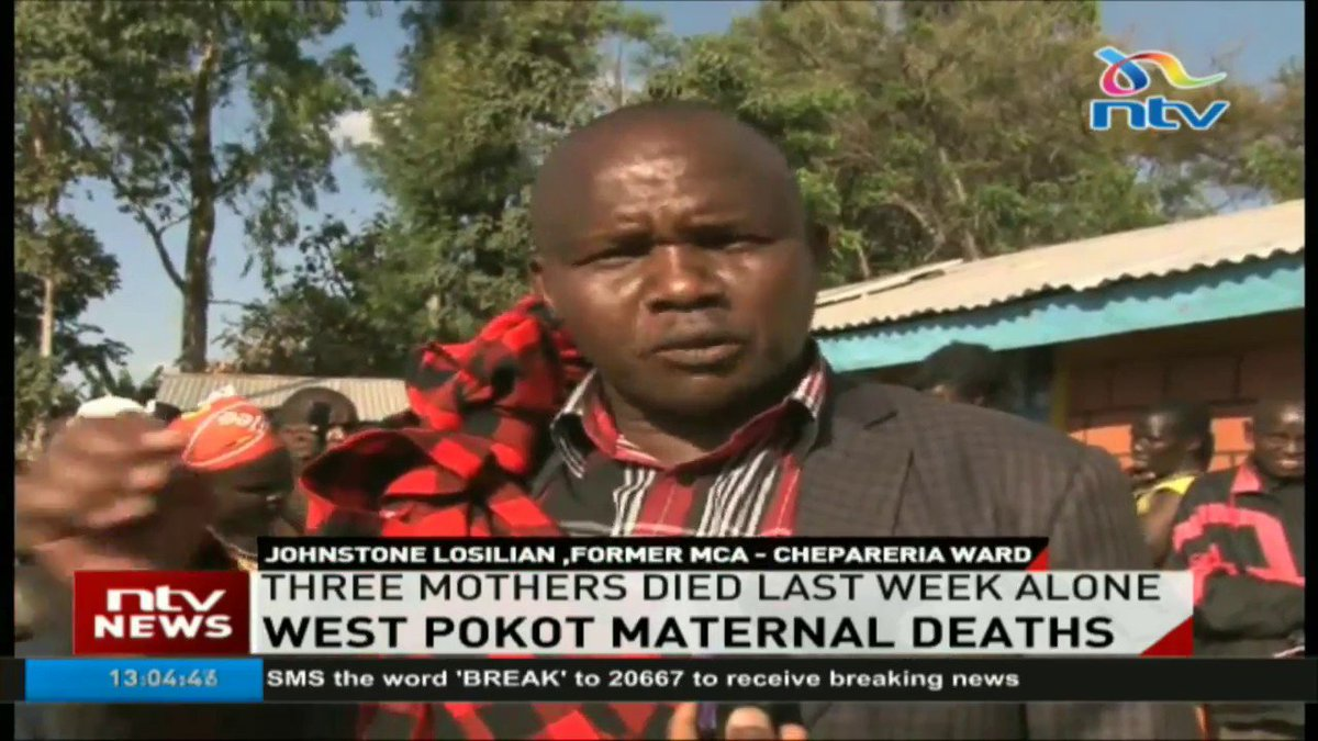 West Pokot residents decry increasing maternal deaths