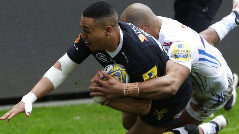 test Twitter Media - Exeter missed the chance to return to the top of the table on Sunday as injury-hit Wasps gained revenge for last season's Premiership final defeat: https://t.co/qjIgiWfrgM https://t.co/jvejmwZduB