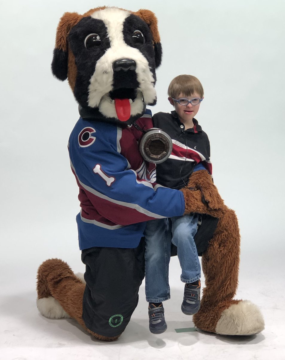 @SpecOlympicsCO Young Athletes Anthony, Drake and Alexa are so excited for the upcoming @Avalanche Charity Brunch! #GoAvsGo @AvsBernie https://t.co/ZwqboWHArG