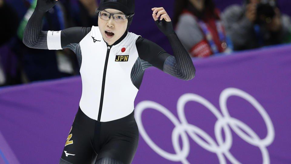 Japan's Kodaira wins Olympic 500 over South Korea's Lee