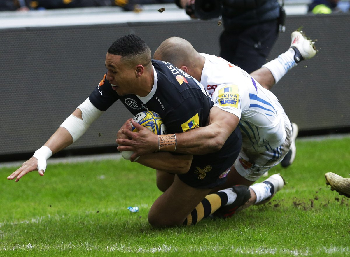 test Twitter Media - Wasps 7-0 Exeter HT: Plenty of talking points from the first half at the Ricoh but only the one try scored. Join us on BT Sport 1 HD & 4K UHD for all the reaction 📺 https://t.co/L9o9EDdf64
