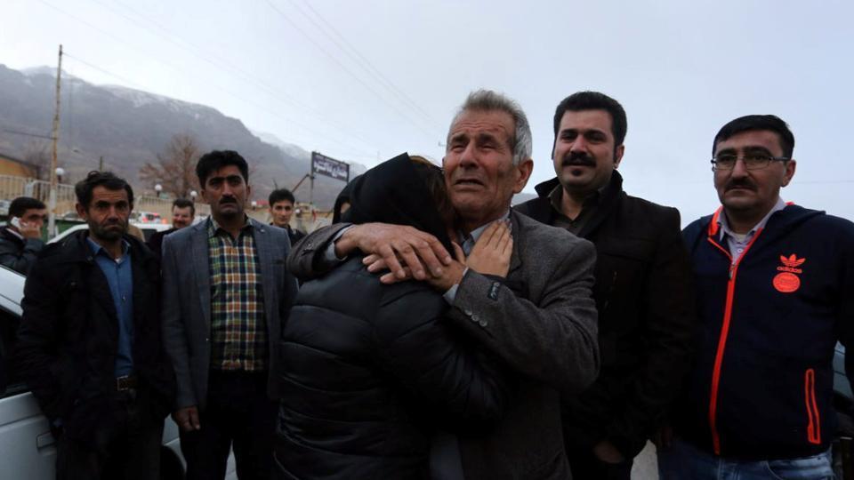 Rescuers scour mountain for Iran plane lost in blizzard, all 66 on board feared dead