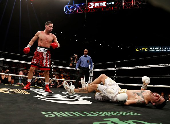 ��#Boxeo | Danny Garcia noqueo a Brandon Rios en Las Vegas ➡️ https://t.co/bp0XQ1nqA8 https://t.co/KkY6K7yJtg