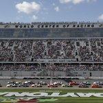 The Latest: Star-studded lineup of celebs on hand at Daytona