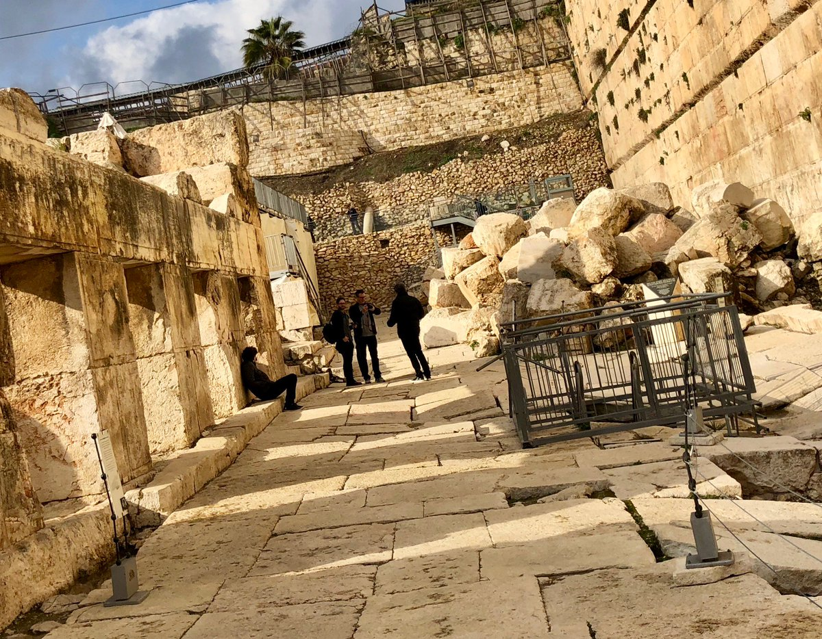 test Twitter Media - When I learned that this pavement next to the Temple Mount was certainly the same pavement upon which Jesus himself had walked I did the only thing that made sense: I knelt and kissed it. #holyground https://t.co/xVn5mxYSZg