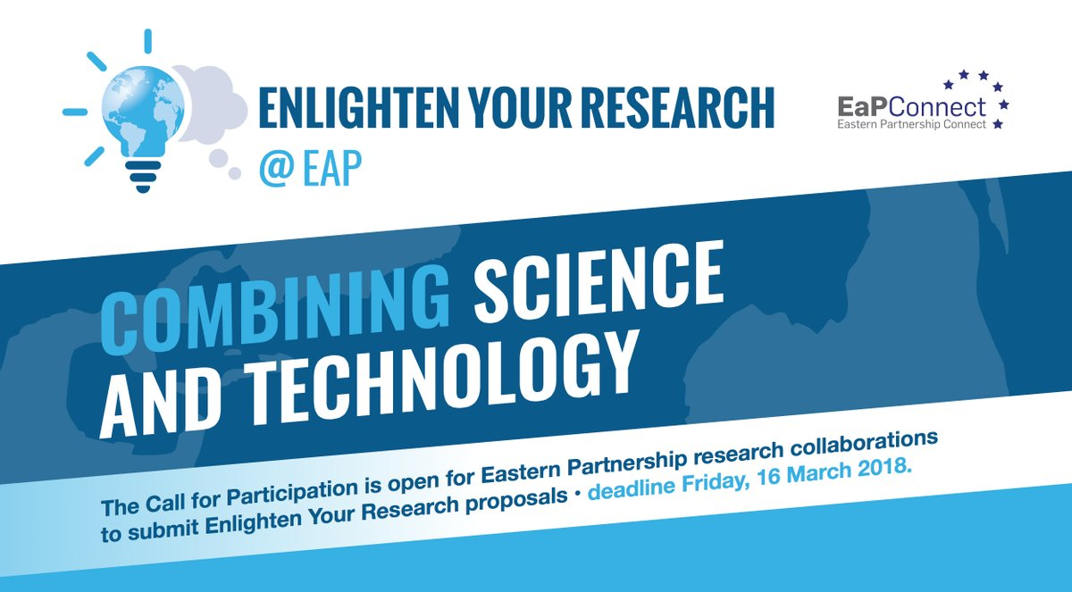 test Twitter Media - Combining #science & #technology! Opportunity for #researchers from the #EasternPartnership countries 🇦🇲🇦🇿🇧🇾🇬🇪🇲🇩🇺🇦: @EaPConnect_News launches 'Enlighten Your Research' 2018 Call for participation. All details➡️ https://t.co/aAWTCsqjSR https://t.co/80LxEwCQMY