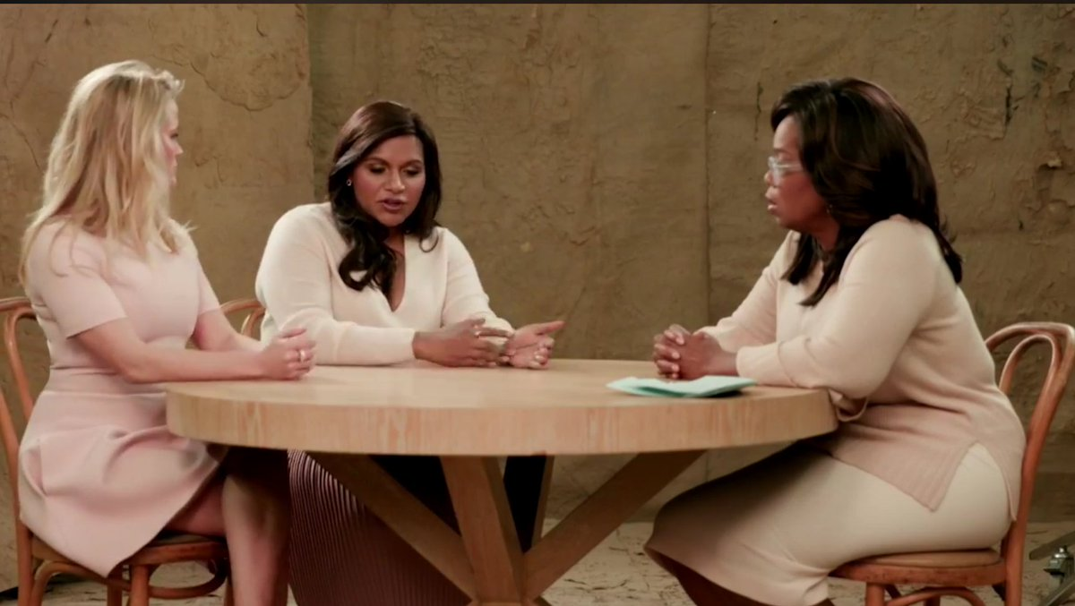 What a way to celebrate the morning! Love you ladies & this conversation @Oprah @mindykaling #WinkleInTime #SuperSoul    https://t.co/3hlYqb2LPd https://t.co/CRdUCCwyil