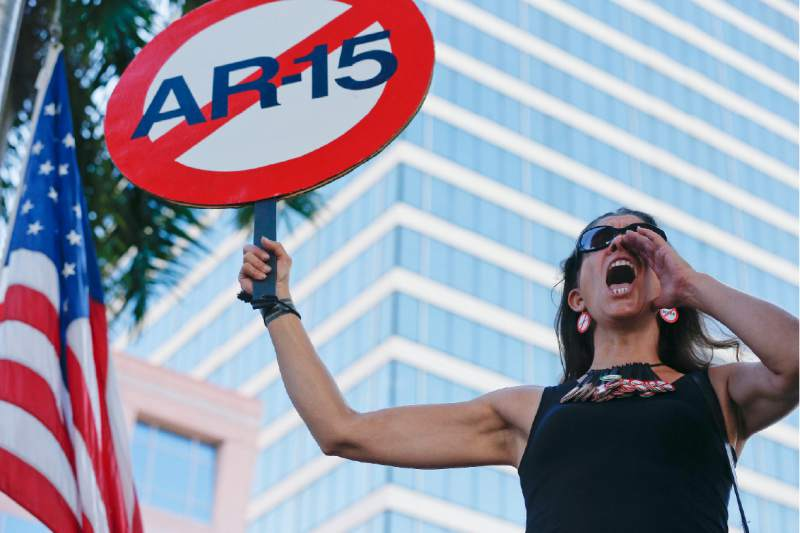 Protests highlight growing calls for gun control after Florida shooting