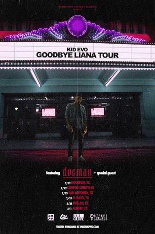 "RT @lowbrowelpaso: @ThatKidEvo brings his ""Goodbye Liana"" tour to @lowbrowelpaso next Saturday the 25th. https://t.co/clvhtQLEgU"