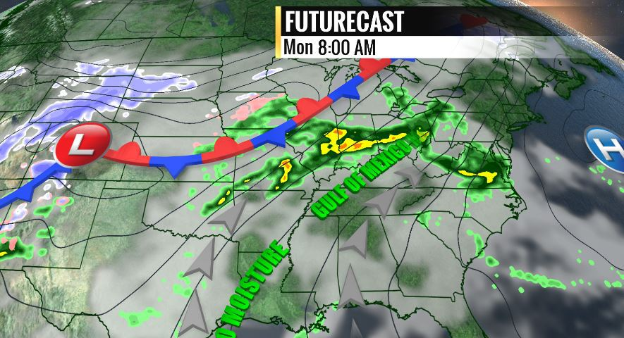 Big weather pattern change expected to bring much needed rain to the region