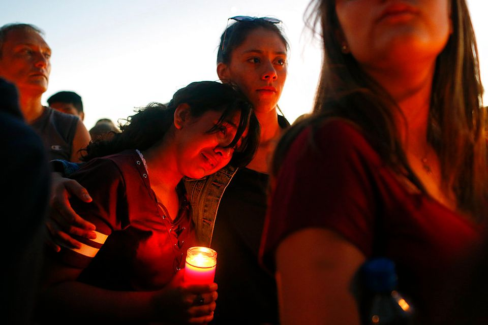 Florida school shooting: As survivors lash out at Trump, president will meet with students