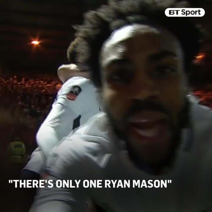 💙  There's only one Ryan Maso ryan mason