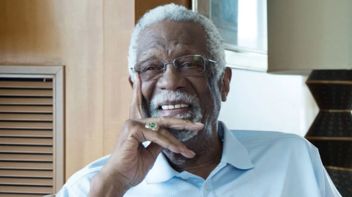 Bill Russell 'proud' of LeBron James and Kevin Durant for 'speaking truth against racism'