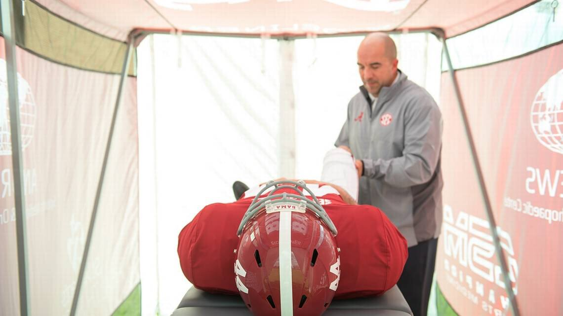 This #Alabama invention is changing the way injured football players are treated →  #WhereLegendsAreMade #BuiltByBama
