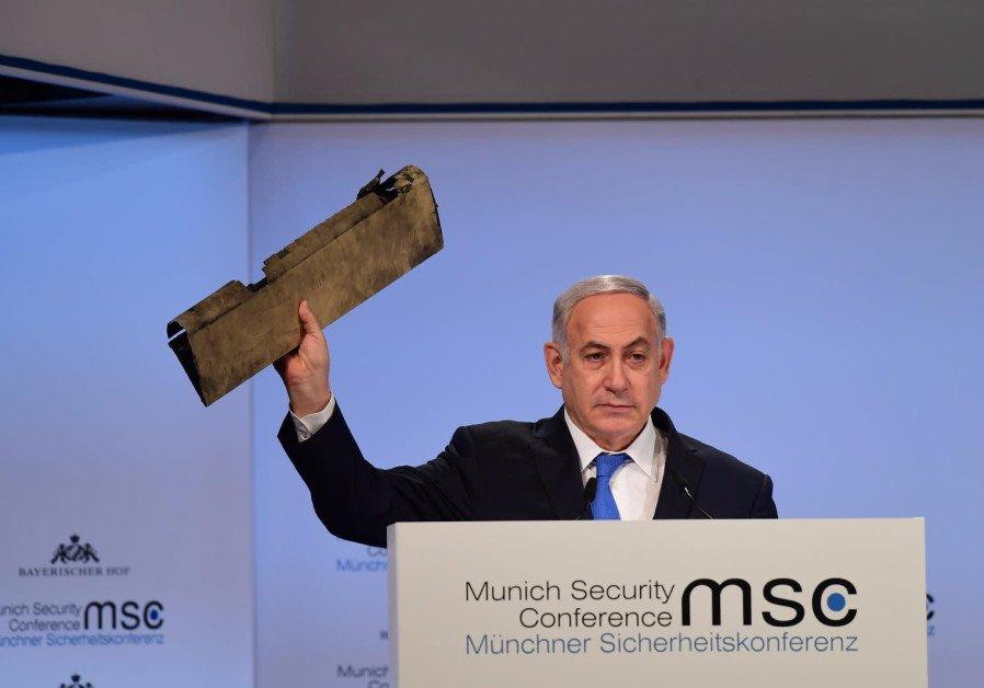 Netanyahu, Iranian FM spar at Munich conference
