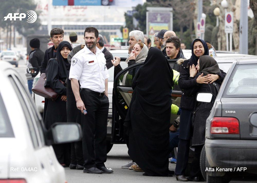 Iran postpones hunt for plane lost in mountain blizzard