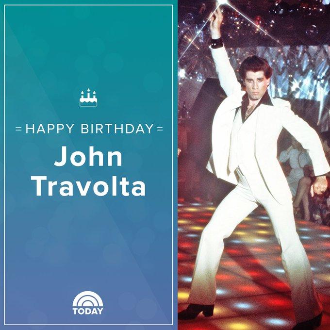 Remessageed TODAY ( Happy birthday, John Travolta!