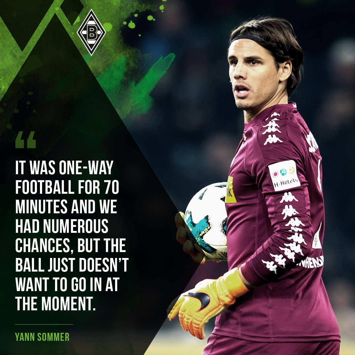 You said it, @YannSommer1 😒  #fohlenelf #BMGBVB https://t.co/xTonVQ7aQS