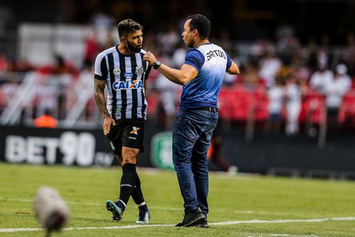 @BroadcastImagem: Gabigol marca e Santos vence São Paulo no Morumbi. Rafael Arbex/Estadão