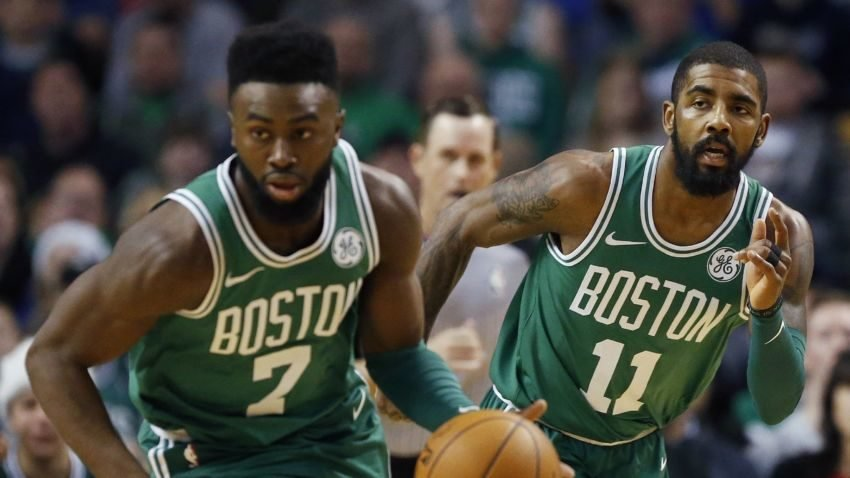 Jaylen Brown, Kyrie Irving speak out against Fox News host's 'shut up and dribble' comments