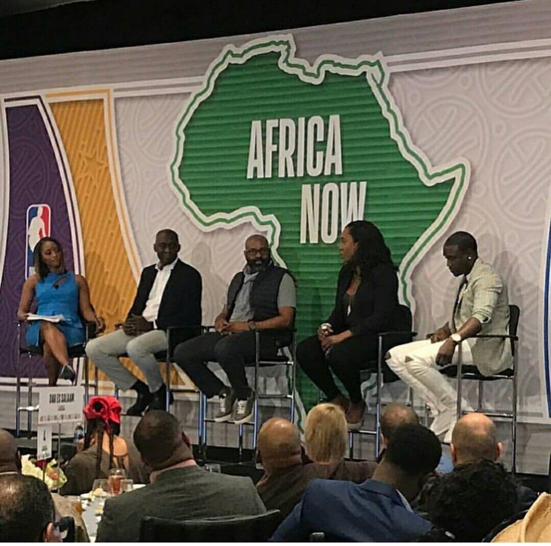 #NBAAllStar2018 @nba @NBAAfrica https://t.co/9aY2FQRSio