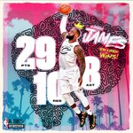 RT : #TeamLeBron Win ✔️ 💪 Stat Line ✔️ #N...