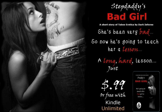 99cents or Freebie on KindleUnlimitedHe's going to teach his Stepdaughter a lesson.