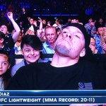 RT : Nate Diaz gives zero fucks. Look at...