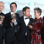 'Three Billboards' wins, women make waves at UK film awards