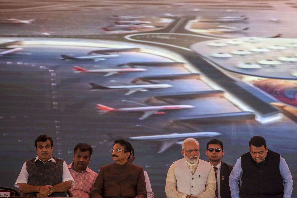 Mumbai finally started work on a new airport more than two decades after first proposing it https://t.co/g1ma8vTzGy https://t.co/1i7D0zQgi4