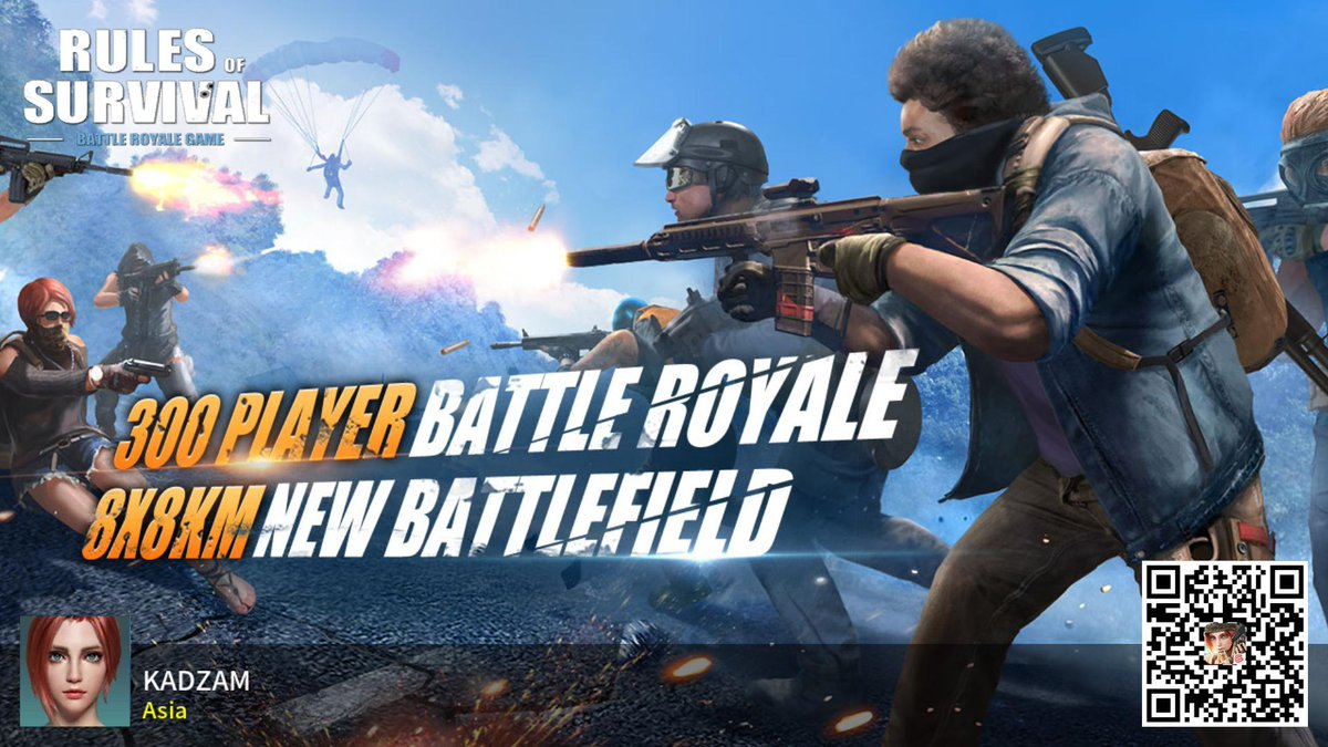 #RulesofSurvival https://t.co/4107nXLbFh