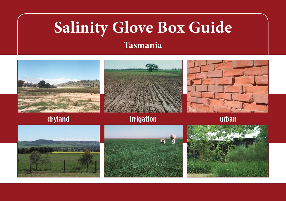 Great glovebox guide to Salinity in Tasmania...