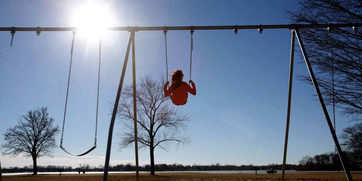Record temps may warm up metro Detroit Tuesday, but it'll be wet
