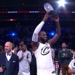 RT : The King claims his 3rd #NBAAl...