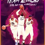 RT : #TeamLeBron wins the 2018 #NBAAllSta...