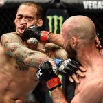 RT : Cowboy Cerrone punch face courtes...