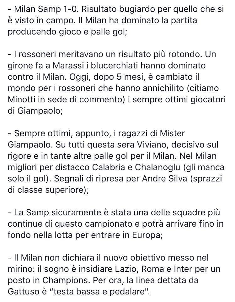 #MilanSampdoria