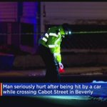 Man Hit By Car While Crossing Beverly Street