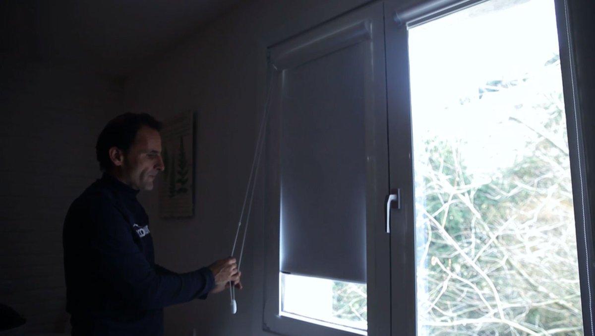 Cómo colocar un estor opaco en la ventana os mostramos de manera ...