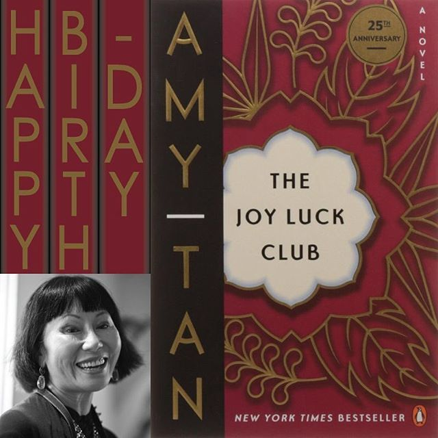 Happy birthday to Amy Tan!