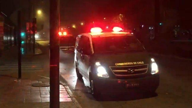 Hombre falleció tras ser baleado frente a discoteque en Estación Central