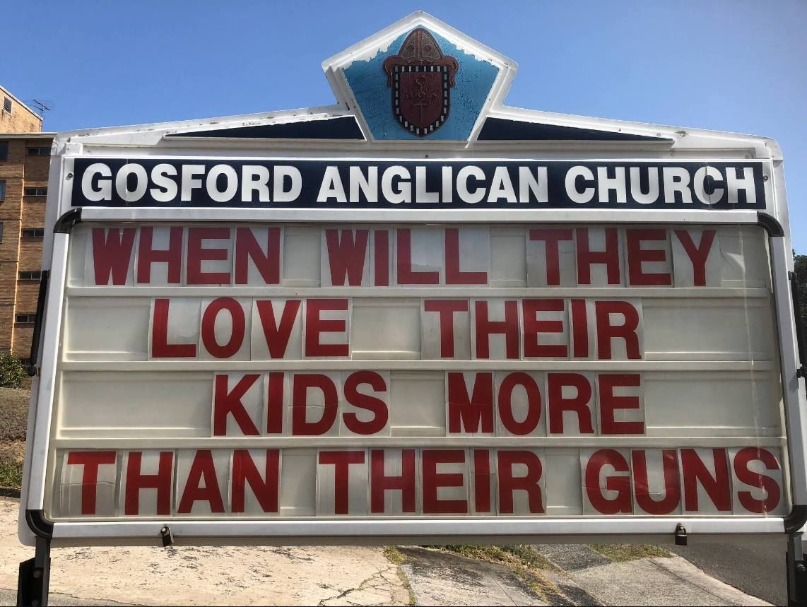 Viral: Australian church sign sparks discussion on social media - | WBTV Charlotte