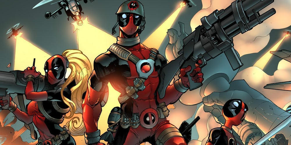 Deadpool Is Taking Over Marvel As Character Reaches 300th Issue Milestone https://t.co/n22P3qL3wS https://t.co/124DXd2f65