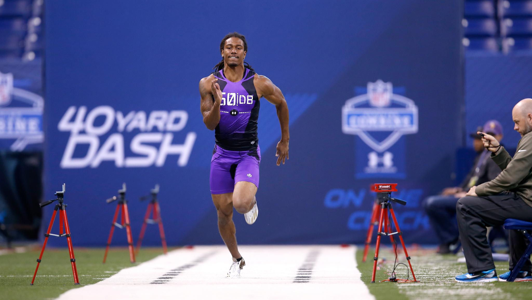 With a 4.31 40-yard dash, @TWaynes_15 was the fastest Viking at the NFL Combine.  ��: https://t.co/ShsPaae9IS https://t.co/k4XrCmGBST