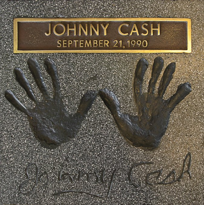 "Happy Birthday to the legendary ""Man in Black\"", Johnny Cash! What\s your favorite song?"