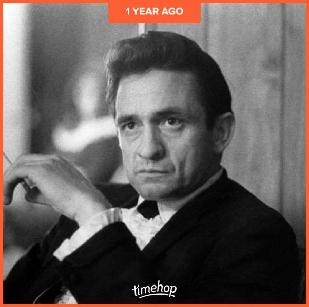 Happy 86th birthday to the Man in Black, Johnny Cash